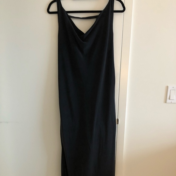 Dresses & Skirts - Black Silk slip dress